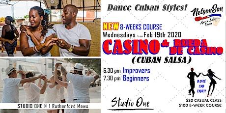 Dance Casino (Cuban Salsa) Beginners / 8-weeks course [Term 1] tickets