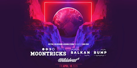MOONTRICKS + BALKAN BUMP with Willdabeast at HIGH DIVE tickets