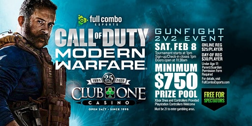 Call of Duty MW: Gunfight 2v2 [Feb 8th]
