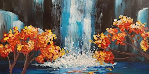 Paint & Sip - Aqua Falls