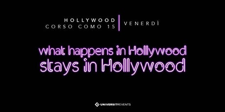 Hollywood Milano Venerdi 24 Gennaio 2020 X Info 392-9848838 biglietti