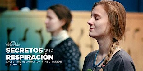 Secretos de la respiración - Taller de respiración & meditación entradas