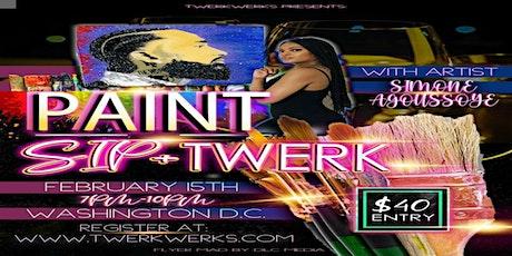 SIP N PAINT + TWERK tickets