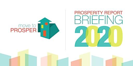 Prosperity Report 2020: Community Leaders Briefing