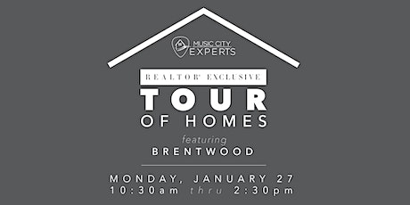 MCE Realtor Tour of Homes - January 2020 tickets