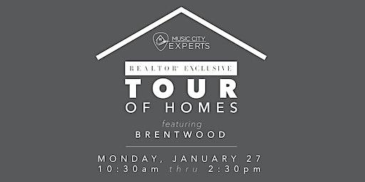 MCE Realtor Tour of Homes - January 2020