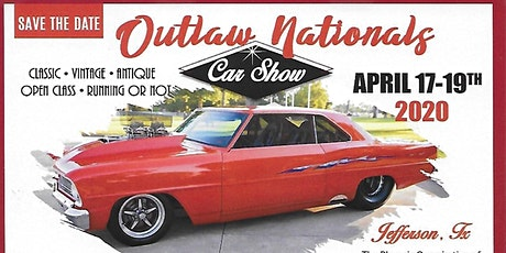 20th Annual Outlaw Nationals Car Show tickets