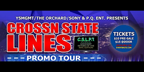 CROSSN STATE LINES PROMO TOUR (TV SERIES |LOCKHART R.O.T.M. EDITION) tickets