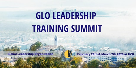 GLO Leadership Training Summit UC Berkeley Spring 2020 tickets