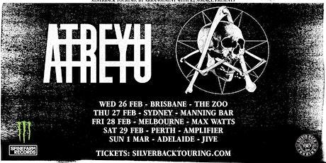 ATREYU - Tempest Rising - Support ticket tickets