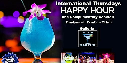 International Happy Hour Thursdays Blue Martini Ft Lauderdale