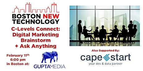 C-Levels Connect: Digital Marketing Brainstorm + Ask Anything tickets