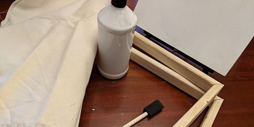 """DIY: How to Prep a Canvas for Acrylic Painting (18x24"""" Canvas)"""