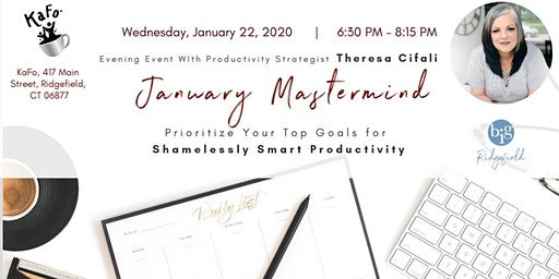 January Mastermind | Your Top Goals for Shamelessly Smart Productivity