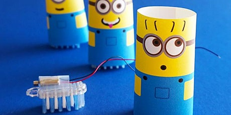 R.A.G.E. Minion Brush Bots [8-12 years] tickets