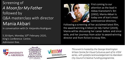 """A Moon for My Father"" screening & Mania Akbari Q&A masterclass"