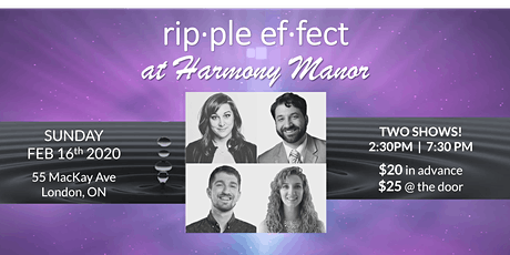 Ripple Effect at Harmony Manor tickets