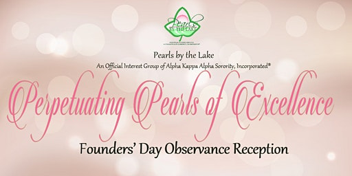 Pearls by the Lake Founders' Day Reception
