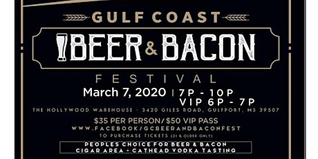 Gulf Coast Beer and Bacon Festival tickets