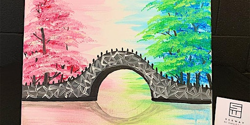 THINGS TO DO -PAINT & SIP EVENT: BRIDGE
