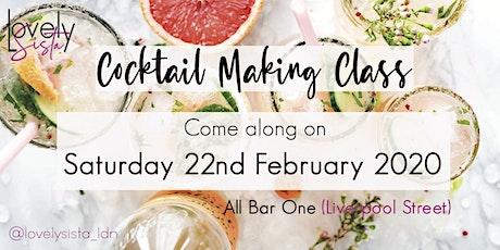 LOVELYSISTA:Cocktail Class tickets