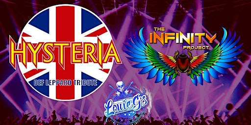 Hysteria [Def Lepp] & The Infinity Project [Journey] at Louie's!