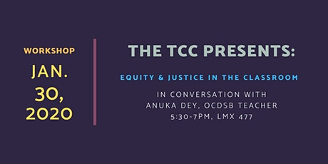 Equity & Justice in the Classroom tickets