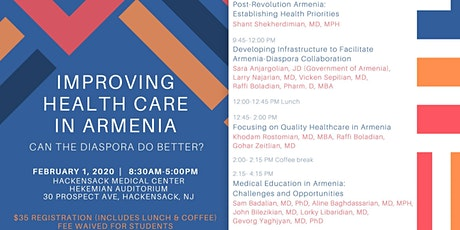 Improving Health Care in Armenia tickets