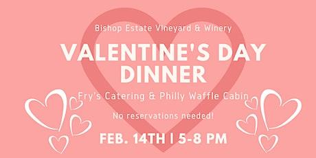 Valentine's Day Dinner at Bishop Estate Vineyard & Winery tickets