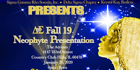 Delta Sigma Chapter Fall 19 Neophyte Presentation tickets