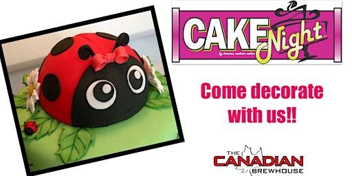 CakeNight - Lewis Estates, EDM - Lady Bug Cake