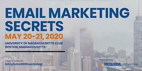Email Marketing Secrets: 2020 Workshop tickets