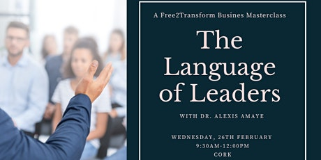 The Language of Leaders tickets
