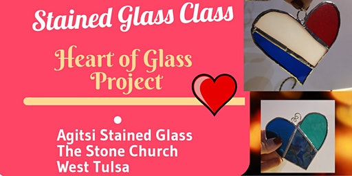 Stained Glass Hearts Weekday Class