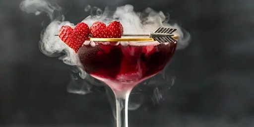 Candlelight Dinner: Love Potion Martini & Dessert
