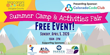 2020 Macaroni Kid Douglas County Summer Camp & Activities Fair tickets