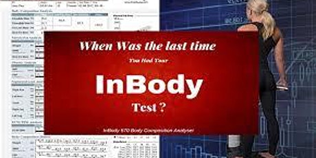 Inbody Scanning Free Report tickets