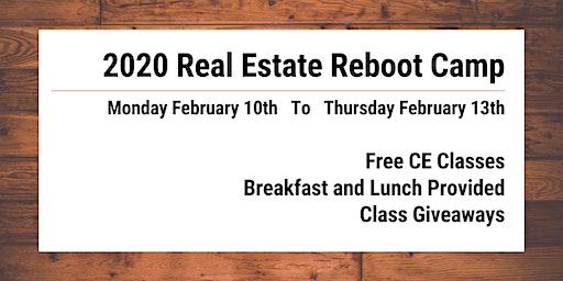 Real Estate Reboot Camp 2020