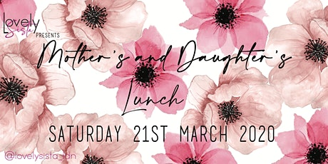 LOVELYSISTA: Mother's and Daughter's Lunch tickets