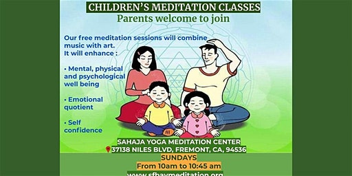 Free 7 week Meditation course for Kids in Fremont