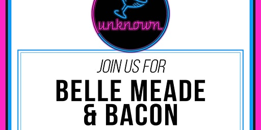 Belle Meade Bourbon and Bacon Tasting