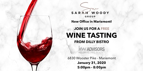 Wine & Welcome - Sarah Woody Group tickets