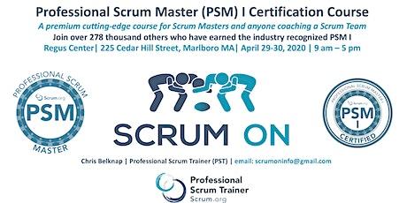 Scrum.org Professional Scrum Master (PSM)- Marlborough MA - April 29-30, 2020 tickets