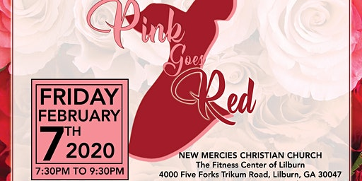 Pink Goes Red - Line Dancing for a Healthy Heart