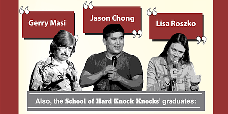Stand-up @ The Duke - with Jason Chong, Gerry Masi and more tickets