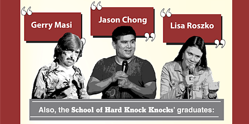 Stand-up @ The Duke - with Jason Chong, Gerry Masi and more