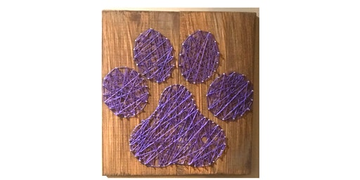 DIY Paw Print String Art Workshop!