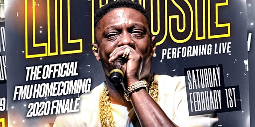 2020 FMU HOMECOMING FINALE WITH LIL BOOSIE  LIVE @ PALMETTO EVENT CENTER