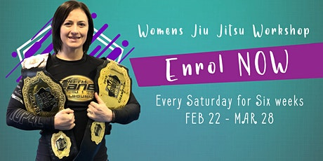 Womens Jiu Jitsu Workshop tickets