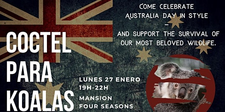 Coctel para Koalas  // Australia Day Cocktail Bushfire Appeal entradas